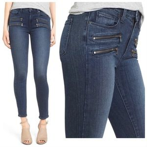 PAIGE High Rise Edgemont Skinny Jeans